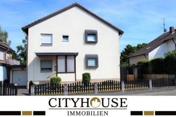 CITYHOUSE: Schönes, gepflegtes Einfamilienhaus, freistehend mit Keller, Doppelgarage + großem Garten, 50354 Hürth / Hermülheim, Einfamilienhaus