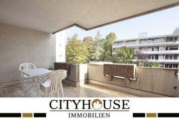 CITYHOUSE: Innenstadttraum mit großer überdachter Terrasse, Doppelgarage, Fahrstuhl und Einbauküche!, 50676 Köln / Altstadt-Süd, Etagenwohnung