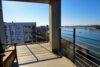 CITYHOUSE: Exklusiver Rheinblick, oberste Etage, Komfortwohnung mit Balkon, Aufzug, 2 TG Stellplätze - Aussicht Balkon überdacht, Südwestlage