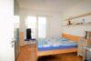 CITYHOUSE: Exklusiver Rheinblick, oberste Etage, Komfortwohnung mit Balkon, Aufzug, 2 TG Stellplätze - Schlafzimmer mit Zugang zum Wannenbad