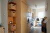CITYHOUSE: Exklusiver Rheinblick, oberste Etage, Komfortwohnung mit Balkon, Aufzug, 2 TG Stellplätze - Küche mit flexibler Trennwand