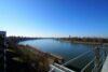 CITYHOUSE: Exklusiver Rheinblick, oberste Etage, Komfortwohnung mit Balkon, Aufzug, 2 TG Stellplätze - Aussicht Balkon
