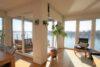CITYHOUSE: Exklusiver Rheinblick, oberste Etage, Komfortwohnung mit Balkon, Aufzug, 2 TG Stellplätze - Den Rhein vom Sofa aus!