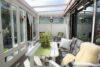 CITYHOUSE: Schönes, saniertes Eckreihenhaus mit gepflegtem Garten, 2 Terrassen, Keller, Garage - Wintergarten mit Markise