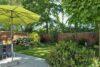 CITYHOUSE: Schönes, saniertes Eckreihenhaus mit gepflegtem Garten, 2 Terrassen, Keller, Garage - Garten